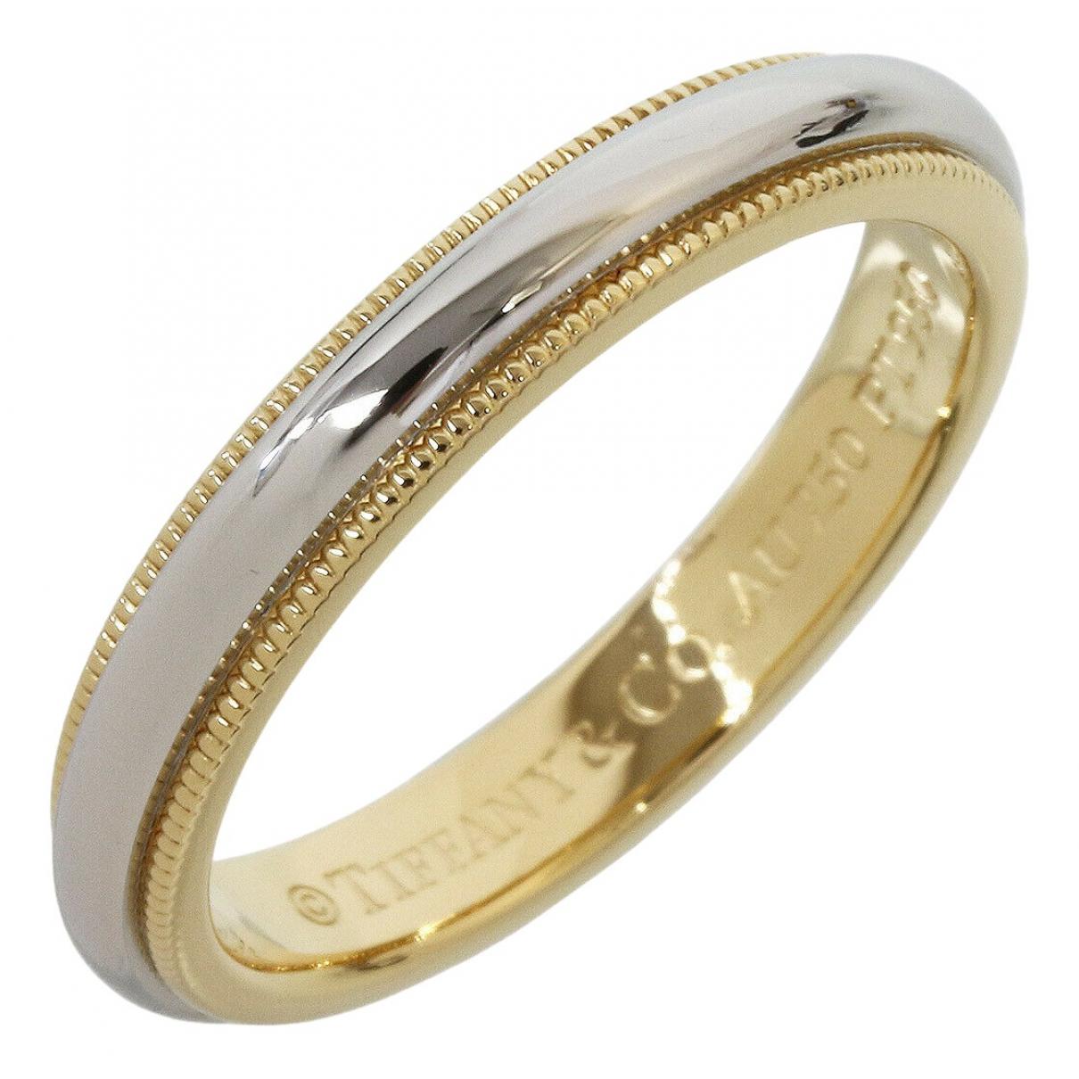 Tiffany & Co - Bague   pour femme en or jaune - argente