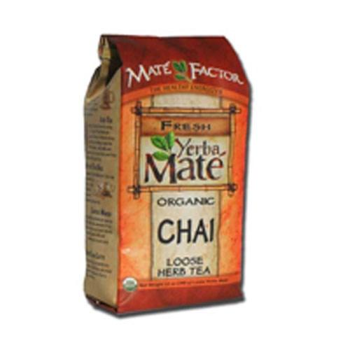 Yerba Mate Organic Chai Loose 12 oz by The Mate Factor