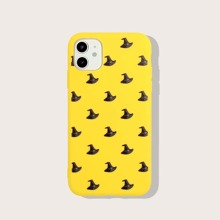 iPhone Schutzhuelle mit Halloween Hut Muster