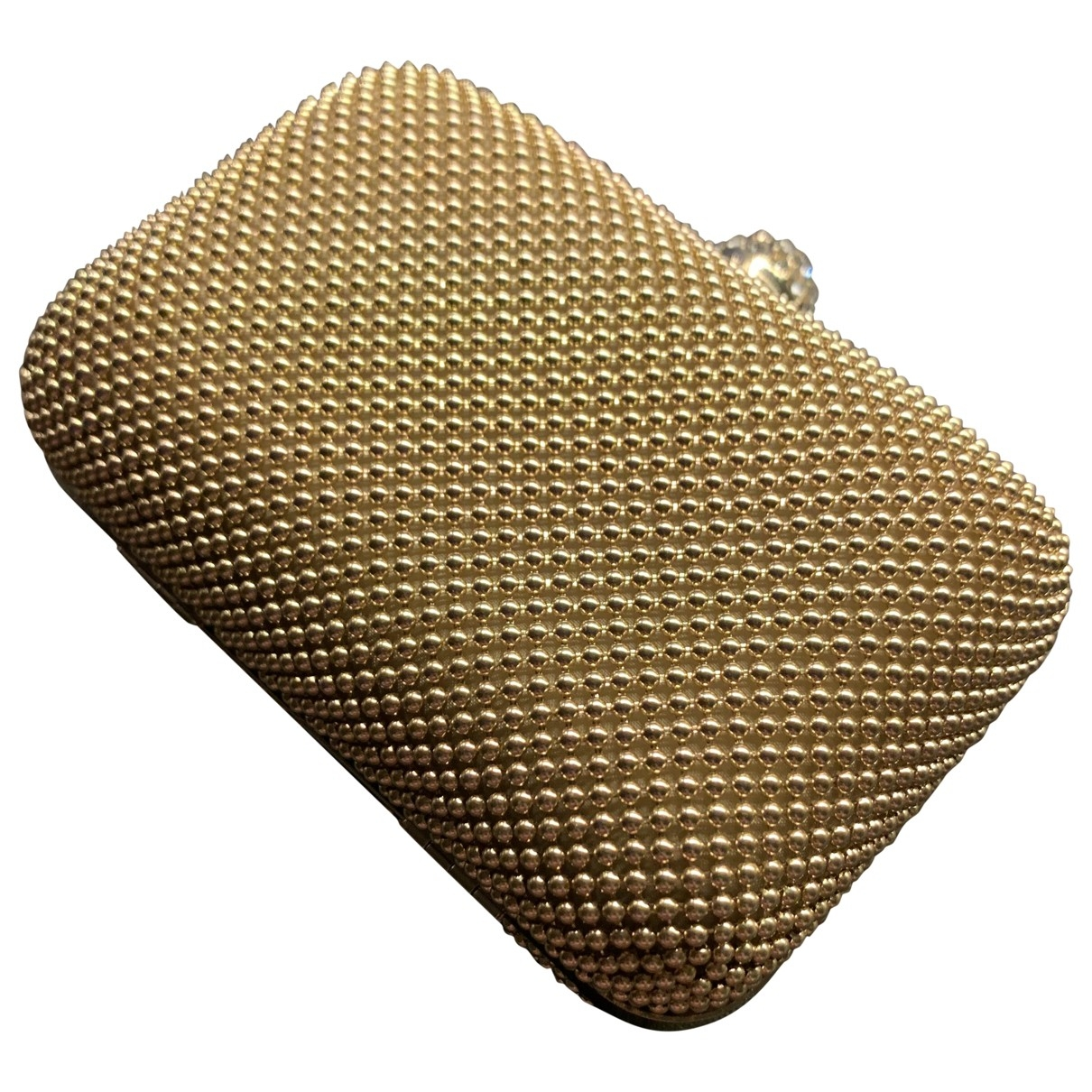 Non Signe / Unsigned \N Clutch in  Gold Metall