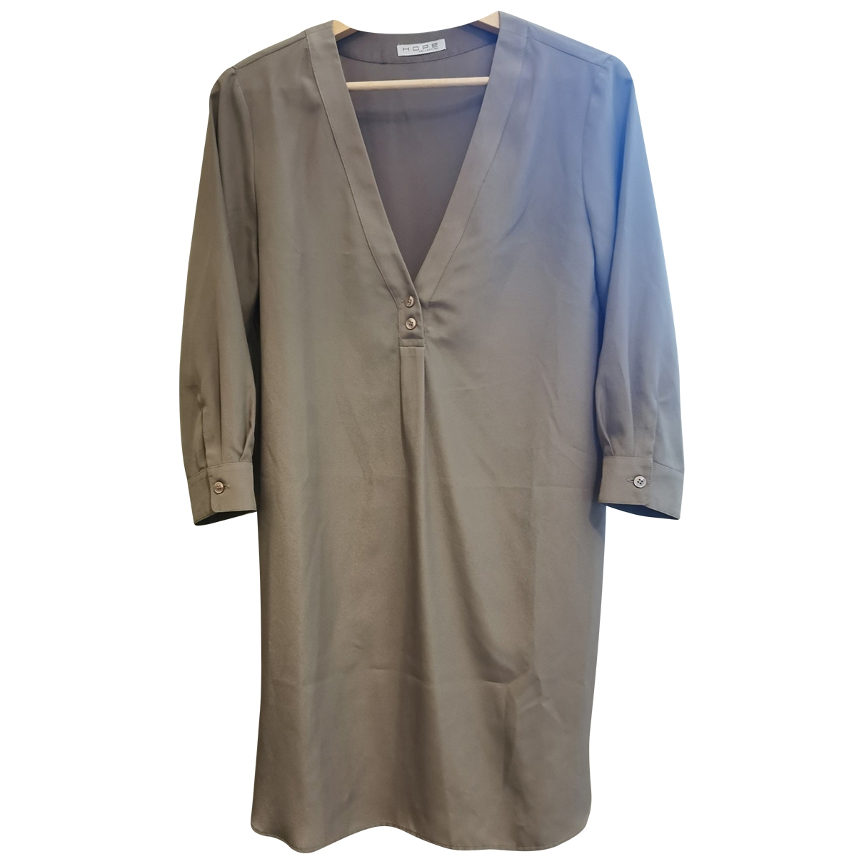 Hope \N Kleid in  Braun Polyester