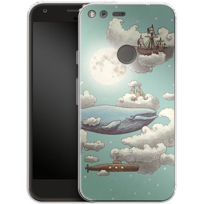 Google Pixel XL Silikon Handyhuelle - Ocean Meets Sky von Terry Fan