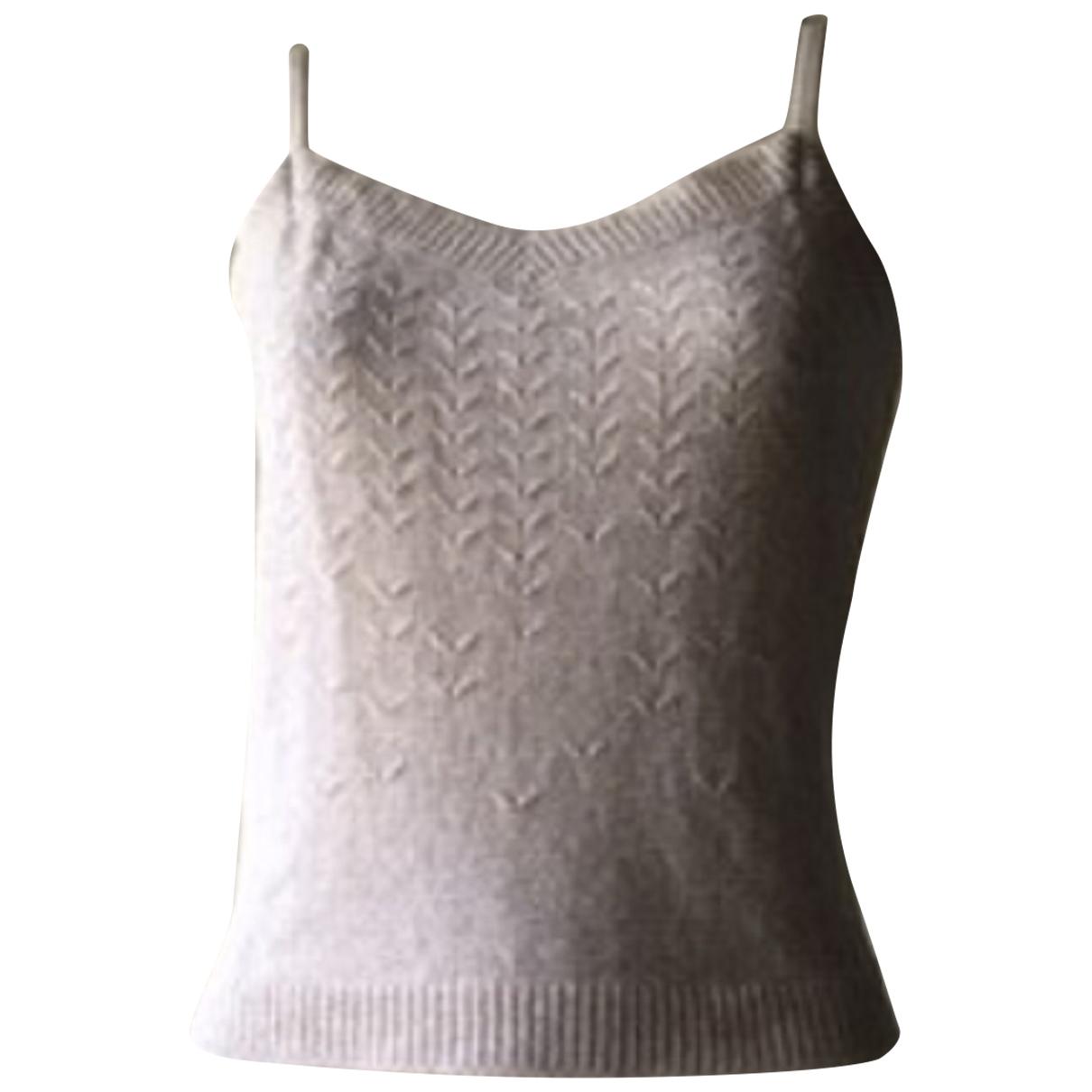 Nina Ricci - Top   pour femme en coton - beige