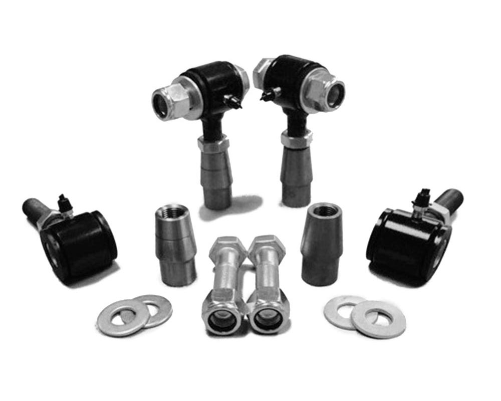 Steinjager J0006647 3/4-16 RH LH Poly Bushings Kits, Male 3/8 Bore x 1.75 Wide fits 1.250 x 0.095 Tubing Black Powdercoated Bush Housing Four Poly End