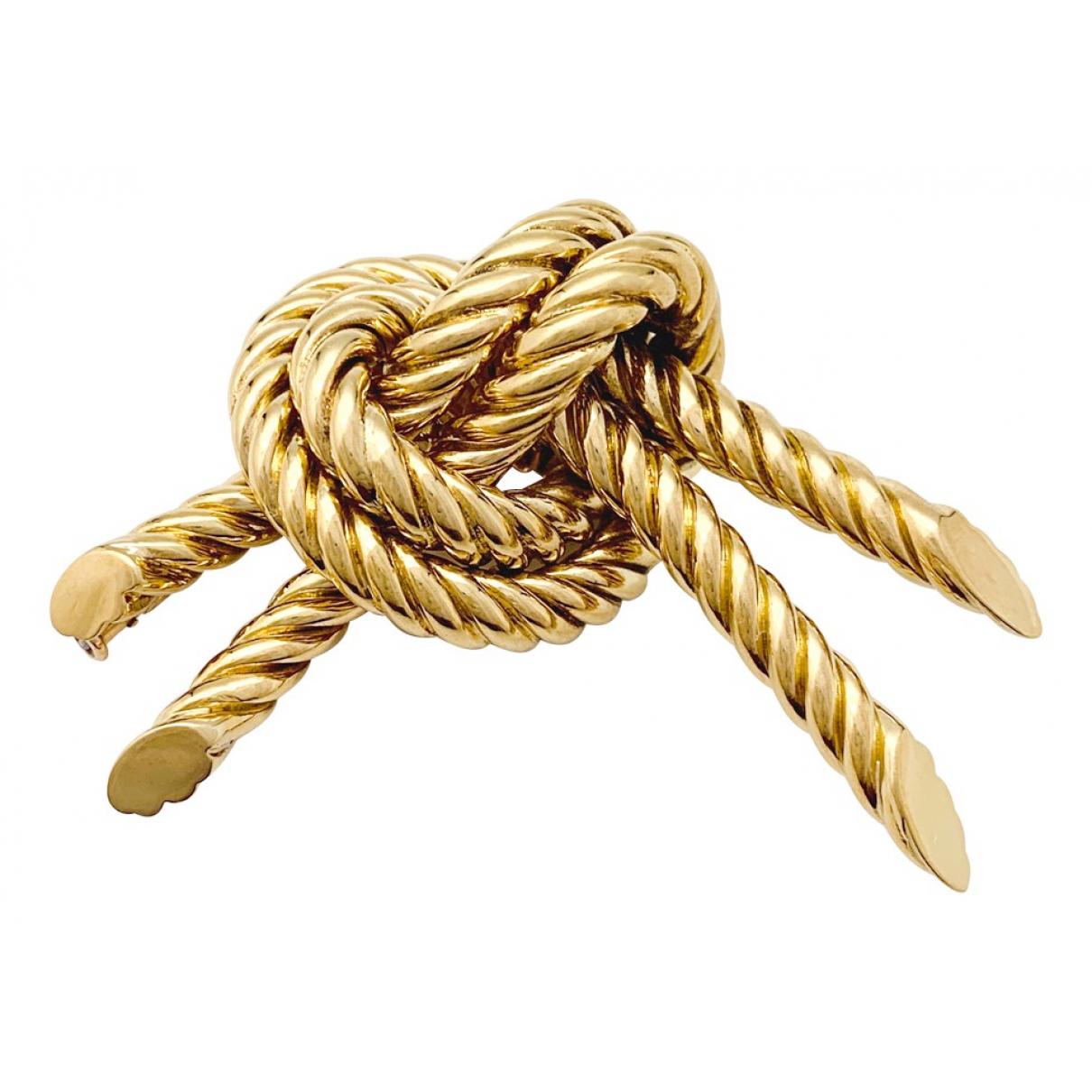Broche de Oro amarillo Hermes