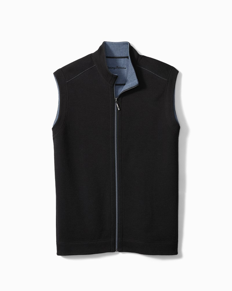 Big & Tall Flipshore Full-Zip Reversible Vest
