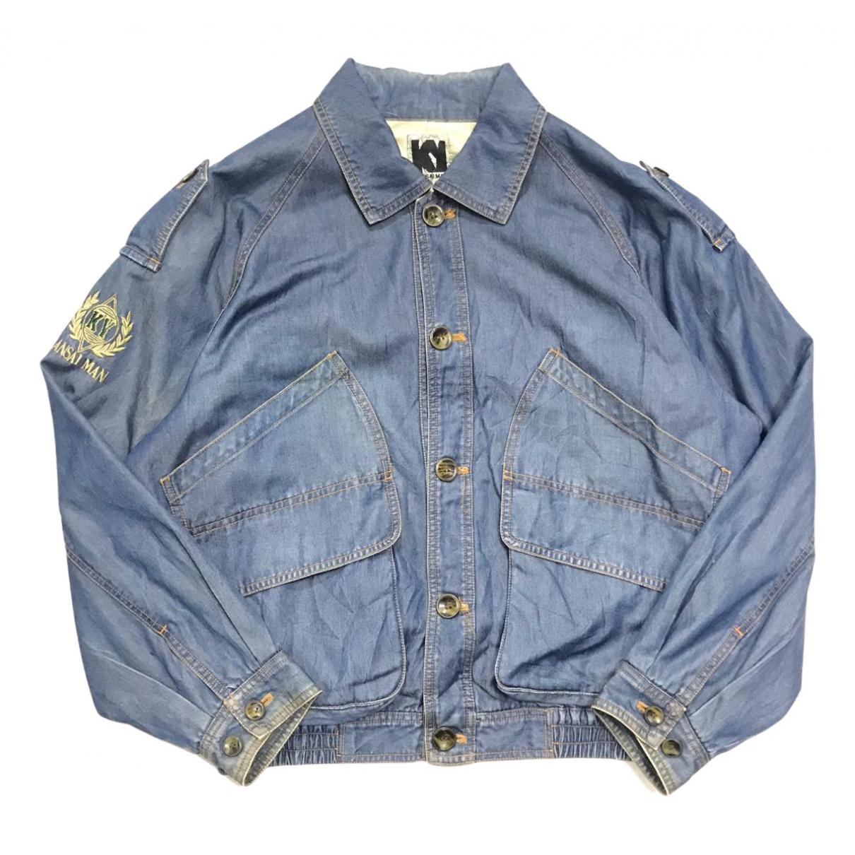 Kansai Yamamoto - Vestes.Blousons   pour homme en denim - bleu
