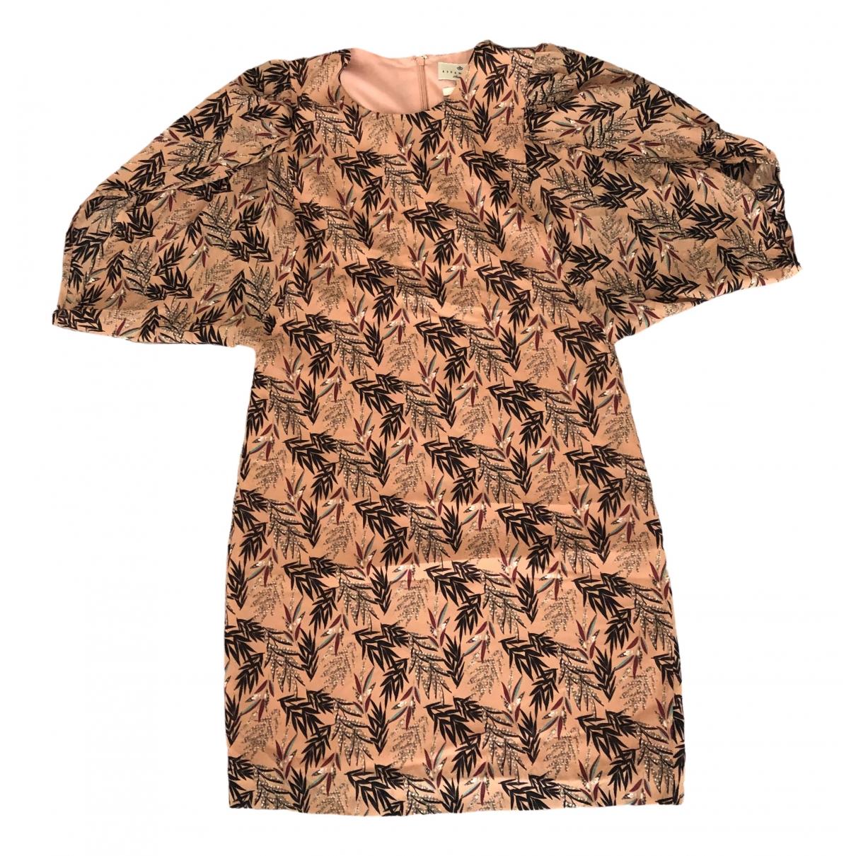 Essentiel Antwerp \N Multicolour Silk dress for Women 36 FR