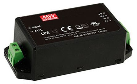 Mean Well , 60W Encapsulated Switch Mode Power Supply, 48V dc, Encapsulated