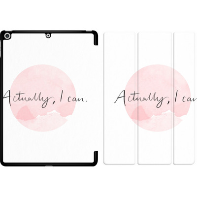 Apple iPad 9.7 (2018) Tablet Smart Case - Actually, I can von caseable Designs