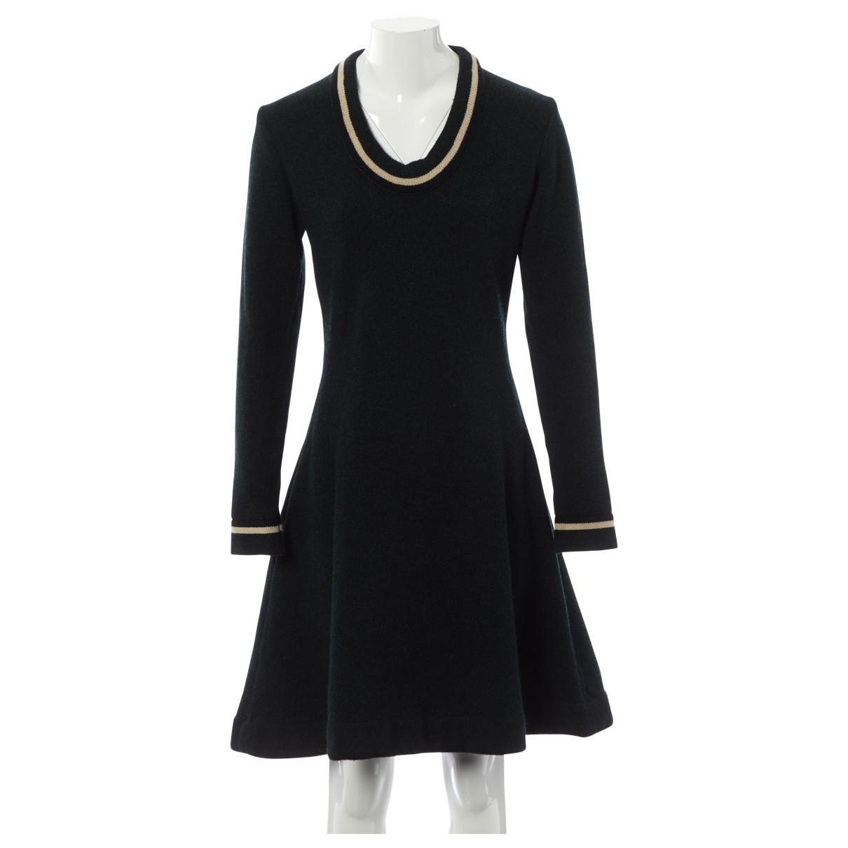 Bouchra Jarrar \N Kleid in  Gruen Wolle