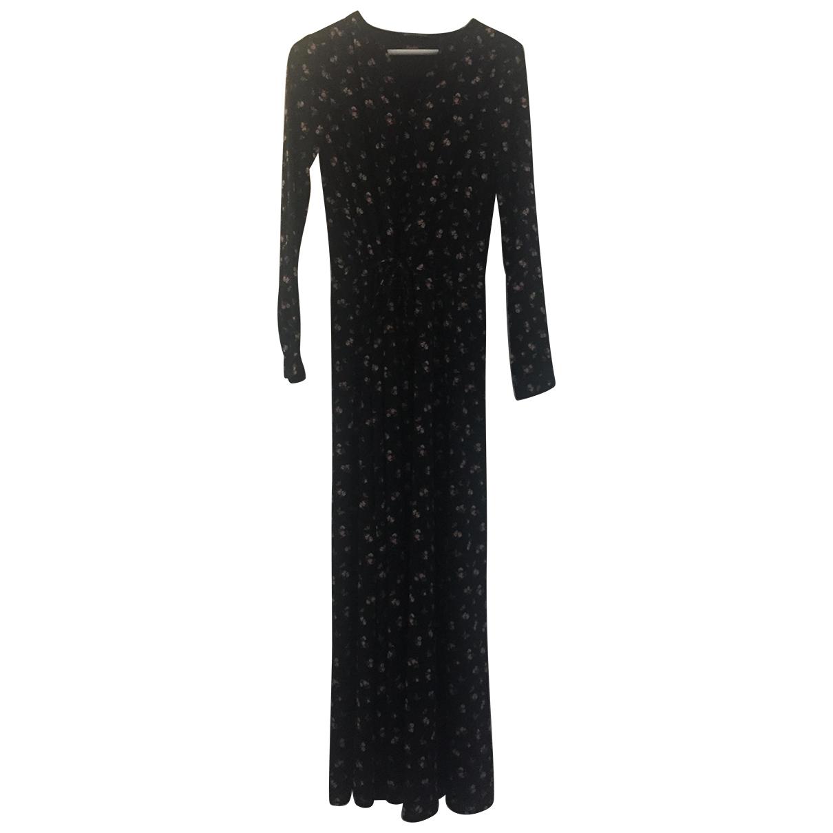 Maison Scotch \N Kleid in  Schwarz Polyester