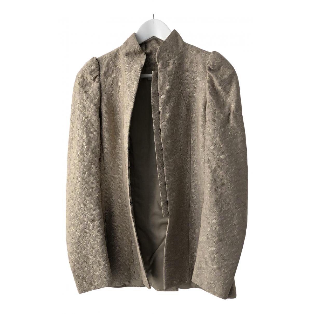 Dries Van Noten \N Beige jacket for Women 36 FR