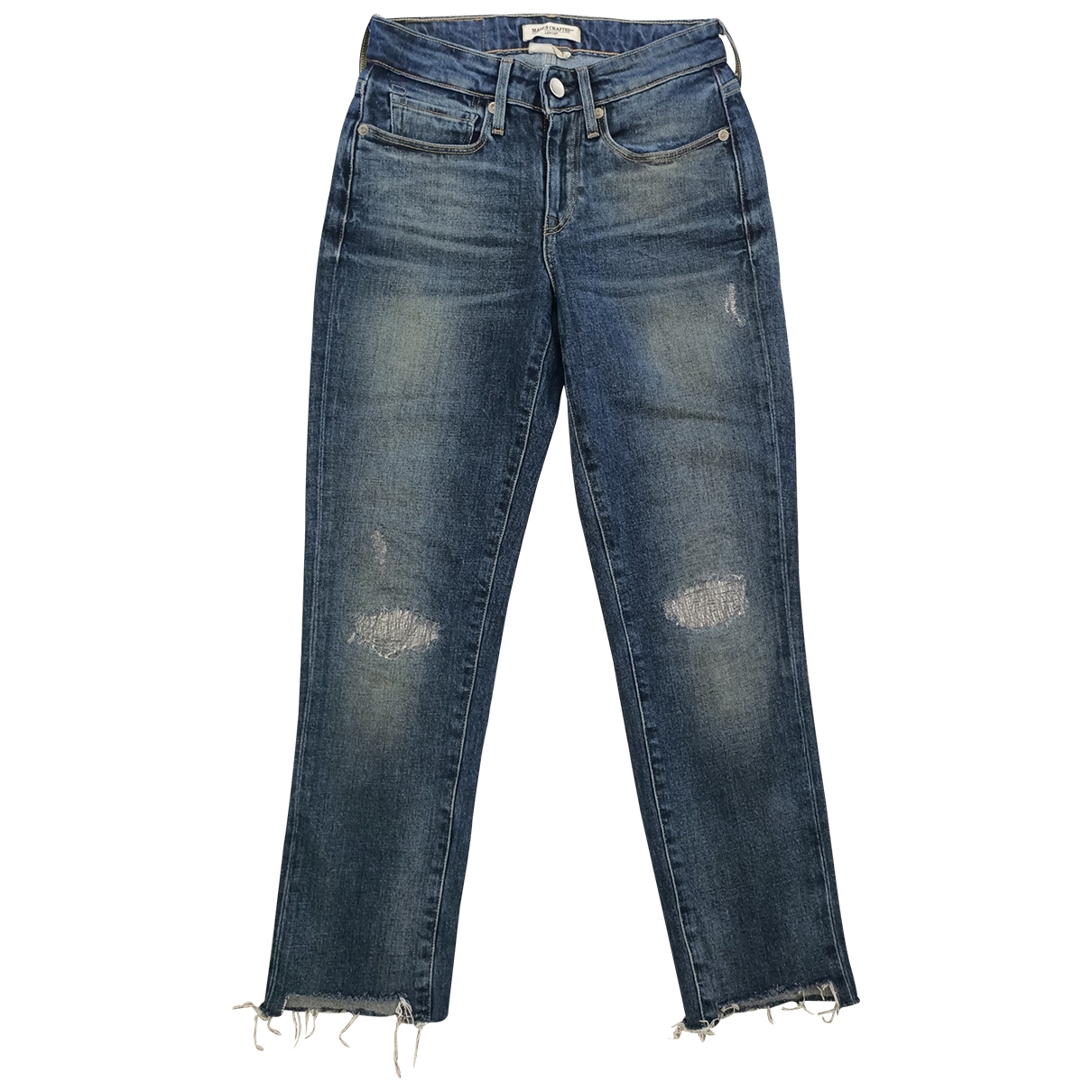 Levi's Made & Crafted \N Blue Cotton Jeans for Women 25 US