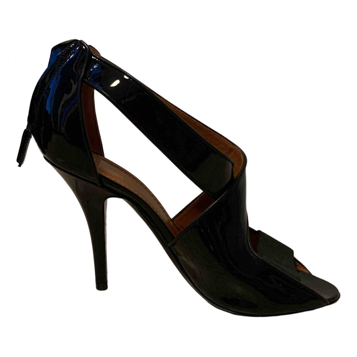 Givenchy \N Black Leather Heels for Women 38 EU
