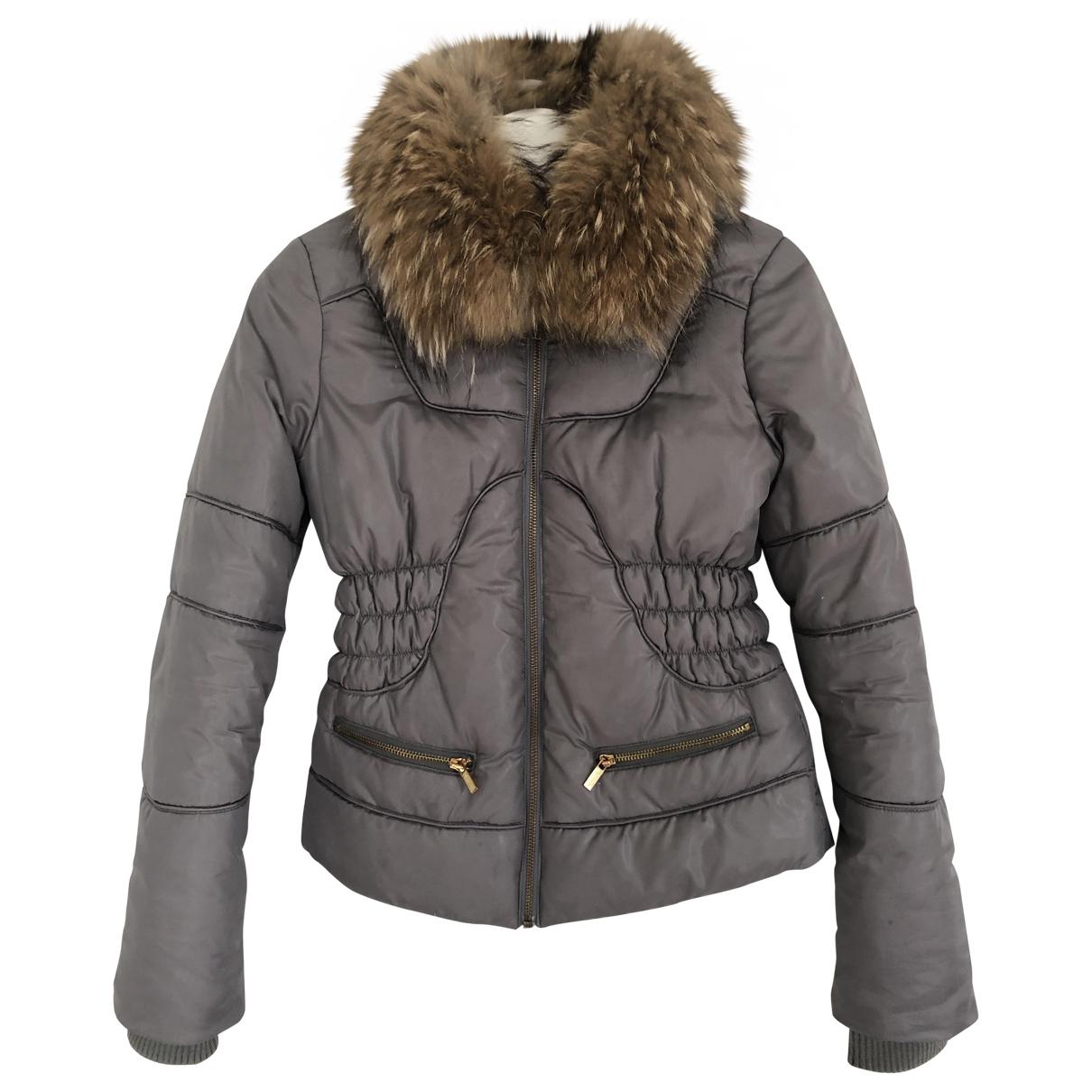 Philosophy Di Alberta Ferretti \N Grey coat for Women 38 IT