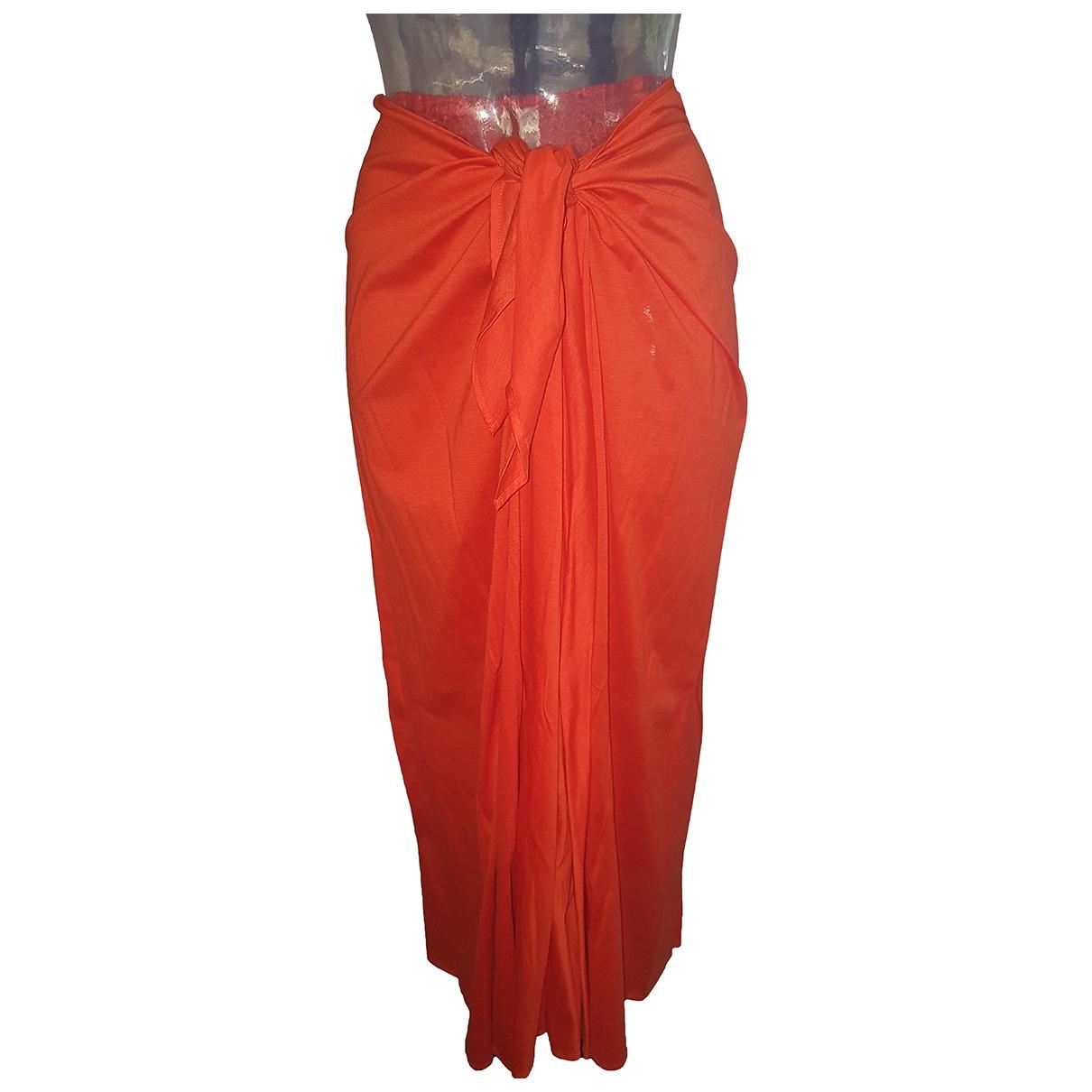 Eres - Jupe   pour femme en coton - orange