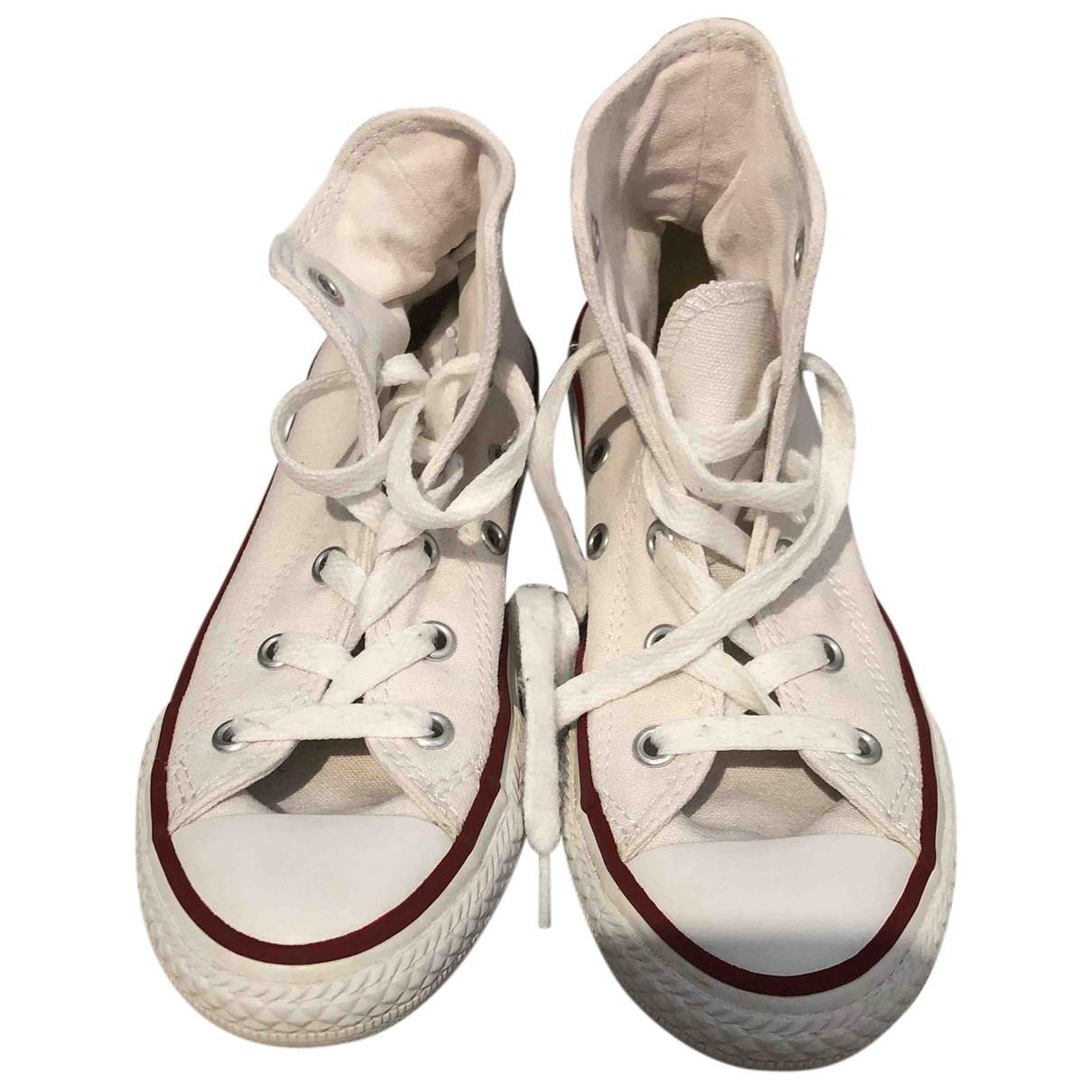 Converse - Baskets   pour enfant en toile - blanc