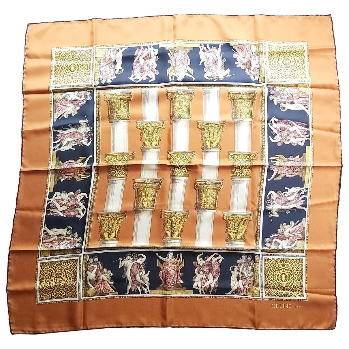 Celine \N Multicolour Silk Silk handkerchief for Women \N