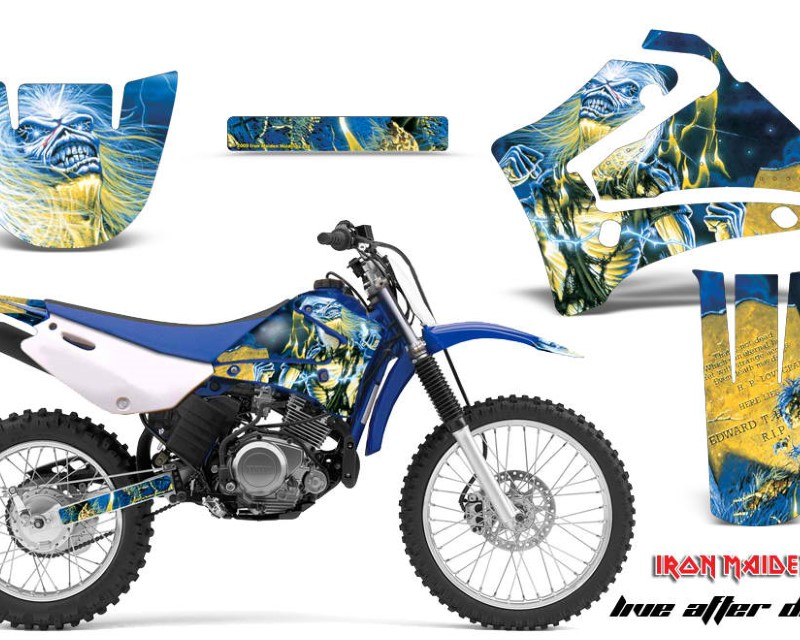 AMR Racing Dirt Bike Graphics Kit MX Decal Wrap For Yamaha TTR125LE 2000-2007áIM LAD
