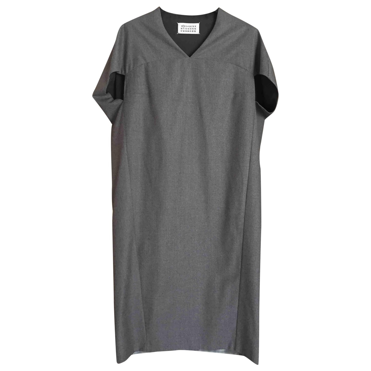 Maison Martin Margiela N Grey Wool dress for Women 40 IT