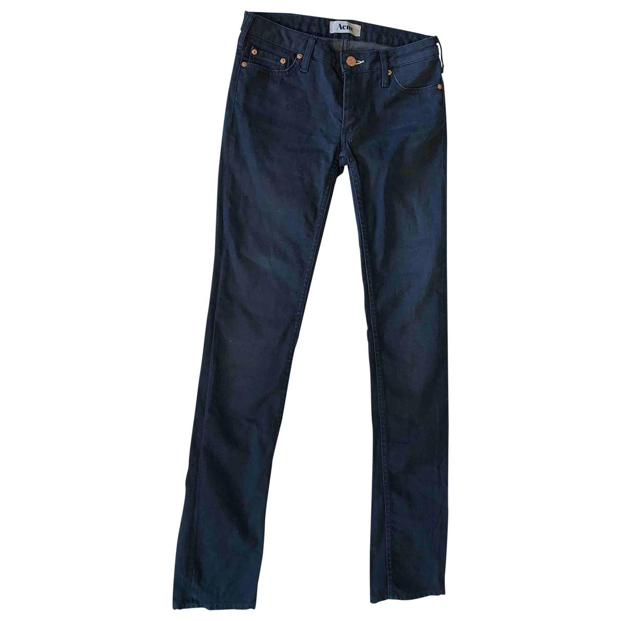 Acne Studios Skin 5 Blue Denim - Jeans Jeans for Women 36 FR