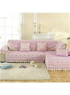 Anti-Slip Modern Style Machine Washable Cotton Sofa Covers