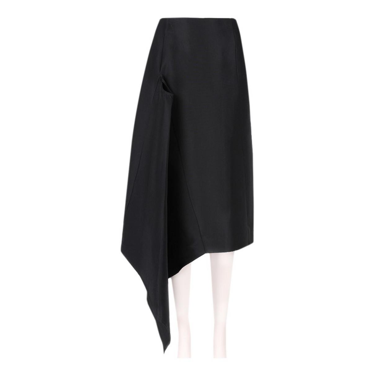 J.w. Anderson \N Black Silk skirt for Women 40 IT