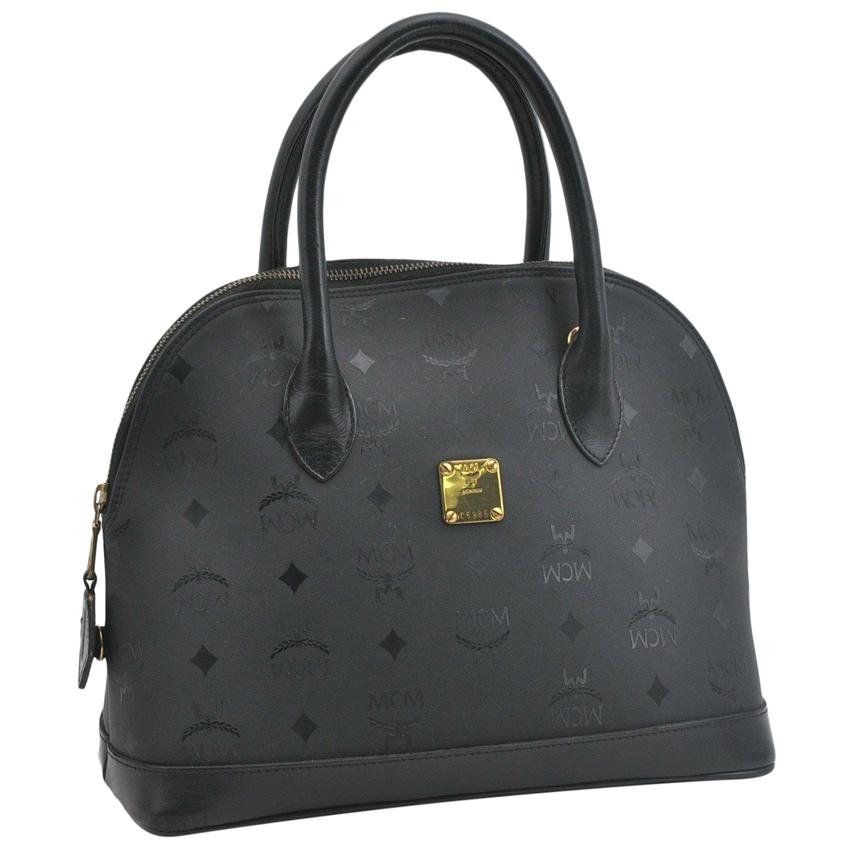 Mcm \N Handtasche in  Schwarz Synthetik
