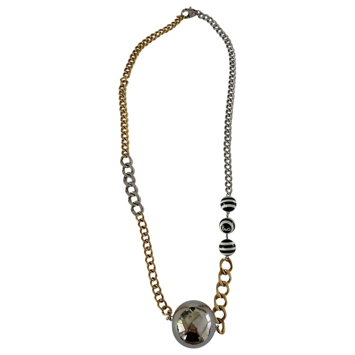Dolce & Gabbana - Collier   pour femme en acier - argente