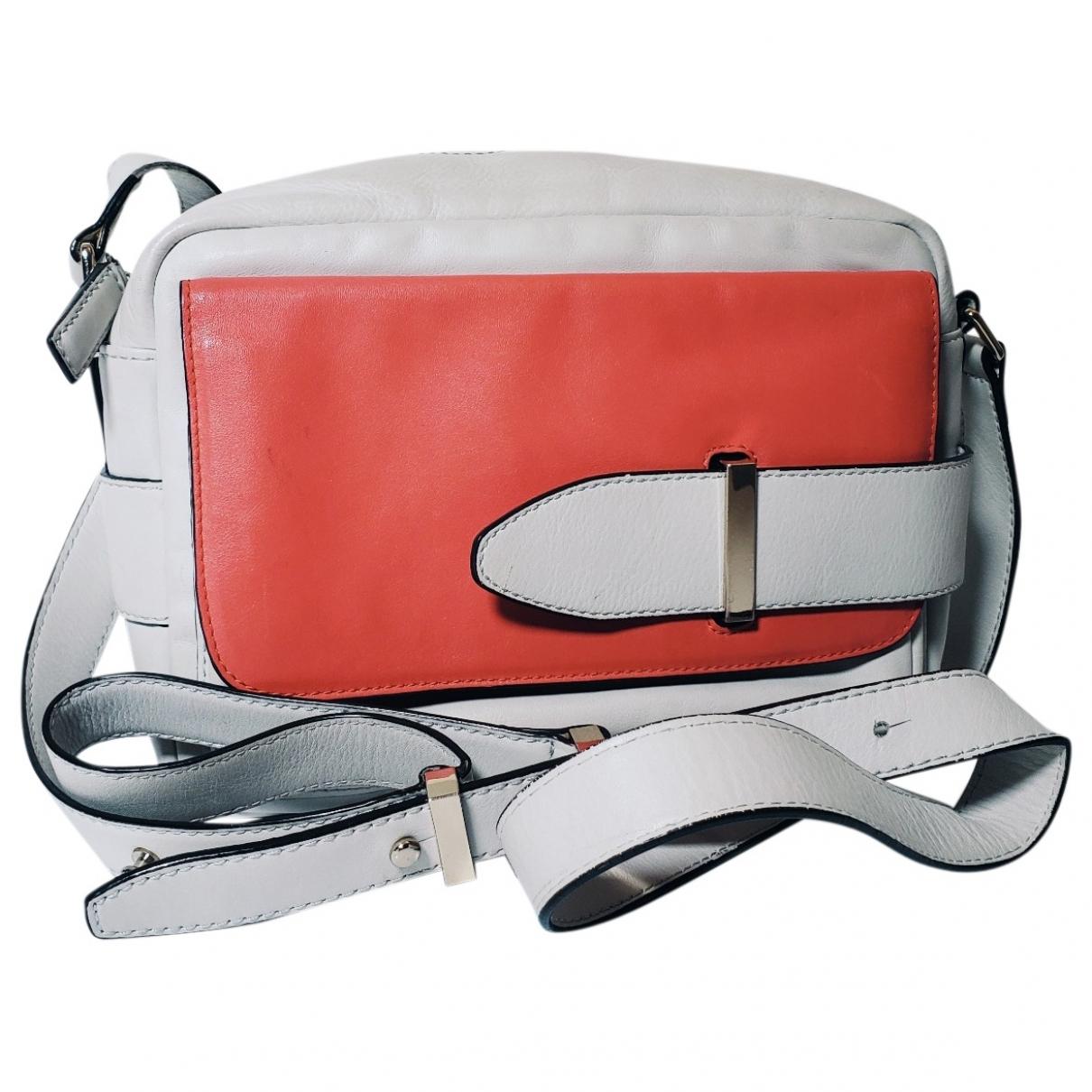 Tila March \N Handtasche in  Ecru Leder