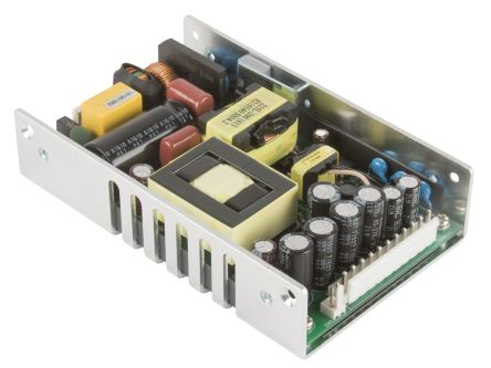 XP Power , 225W Embedded Switch Mode Power Supply (SMPS), 12V dc, U Bracket, Medical Approved