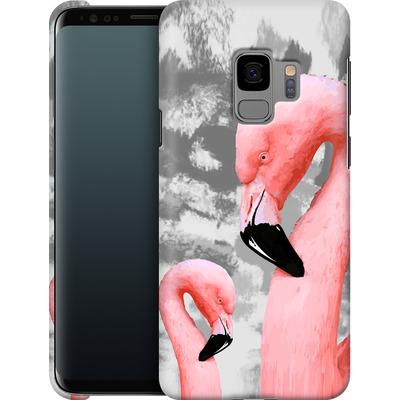 Samsung Galaxy S9 Smartphone Huelle - Flamingo Grey von Mukta Lata Barua
