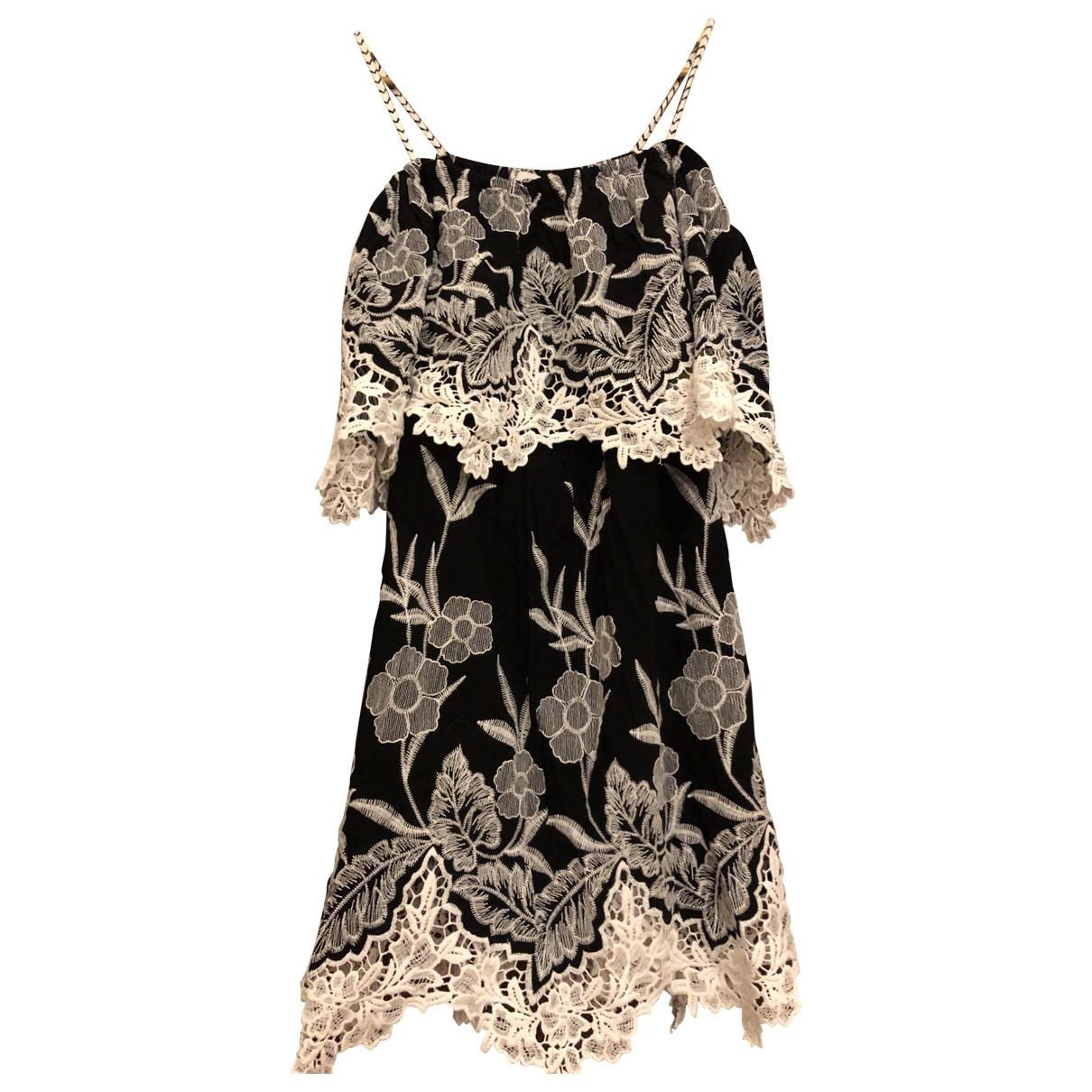 Anne Fontaine - Robe   pour femme en coton - noir