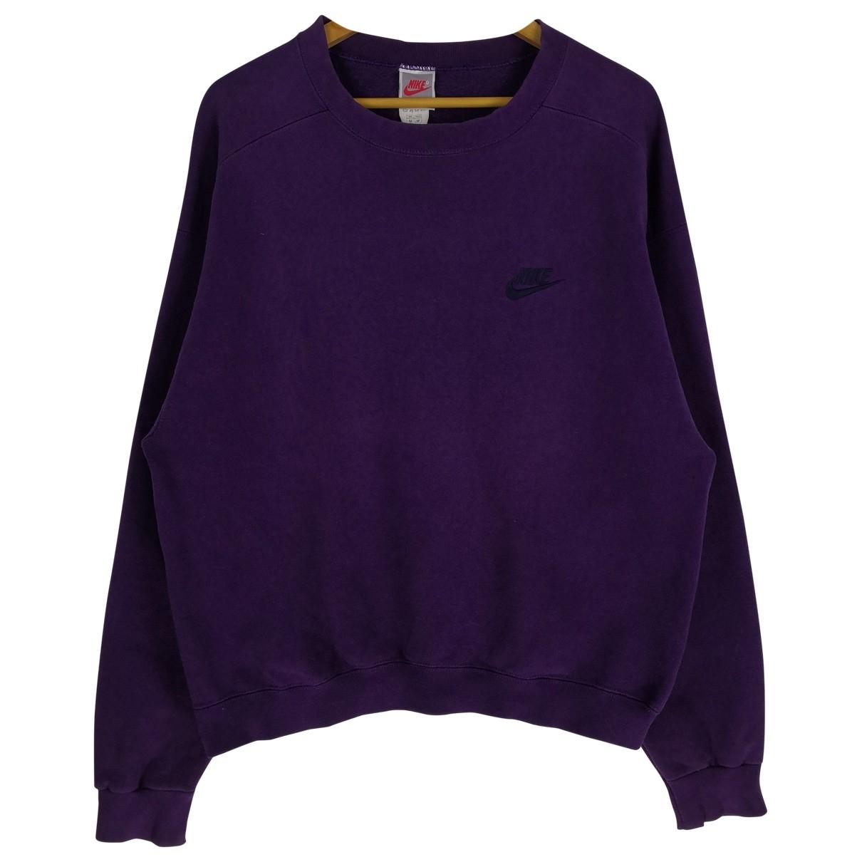 Nike \N Purple Cotton Knitwear & Sweatshirts for Men M International