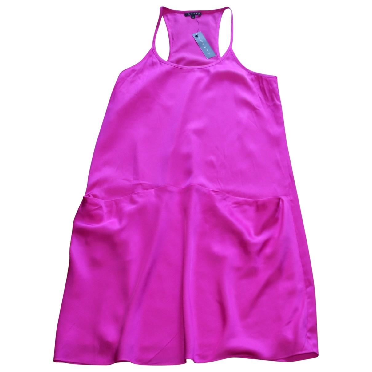 Mini vestido de Seda Theory