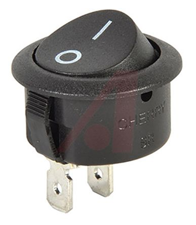 ZF Single Pole Single Throw (SPST), On-None-Off Rocker Switch Panel Mount (50)