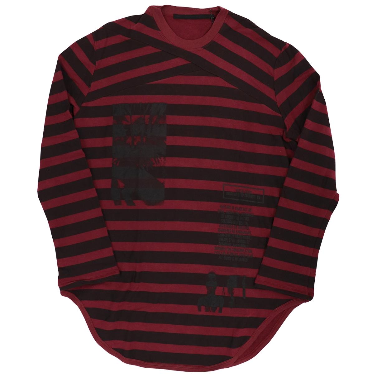 Julius 7 \N T-Shirts Rot