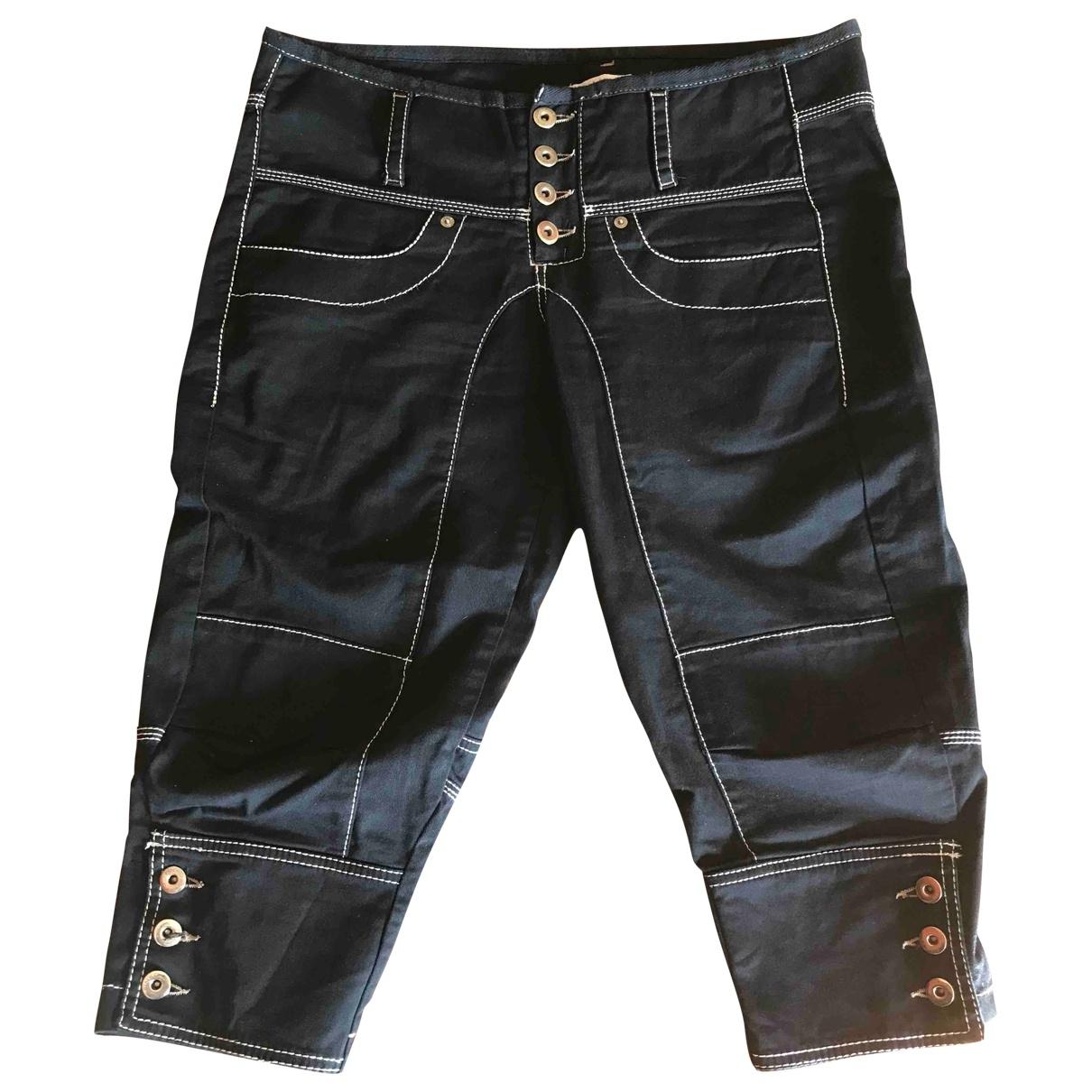 Pinko \N Black Cotton - elasthane Jeans for Women 42 FR