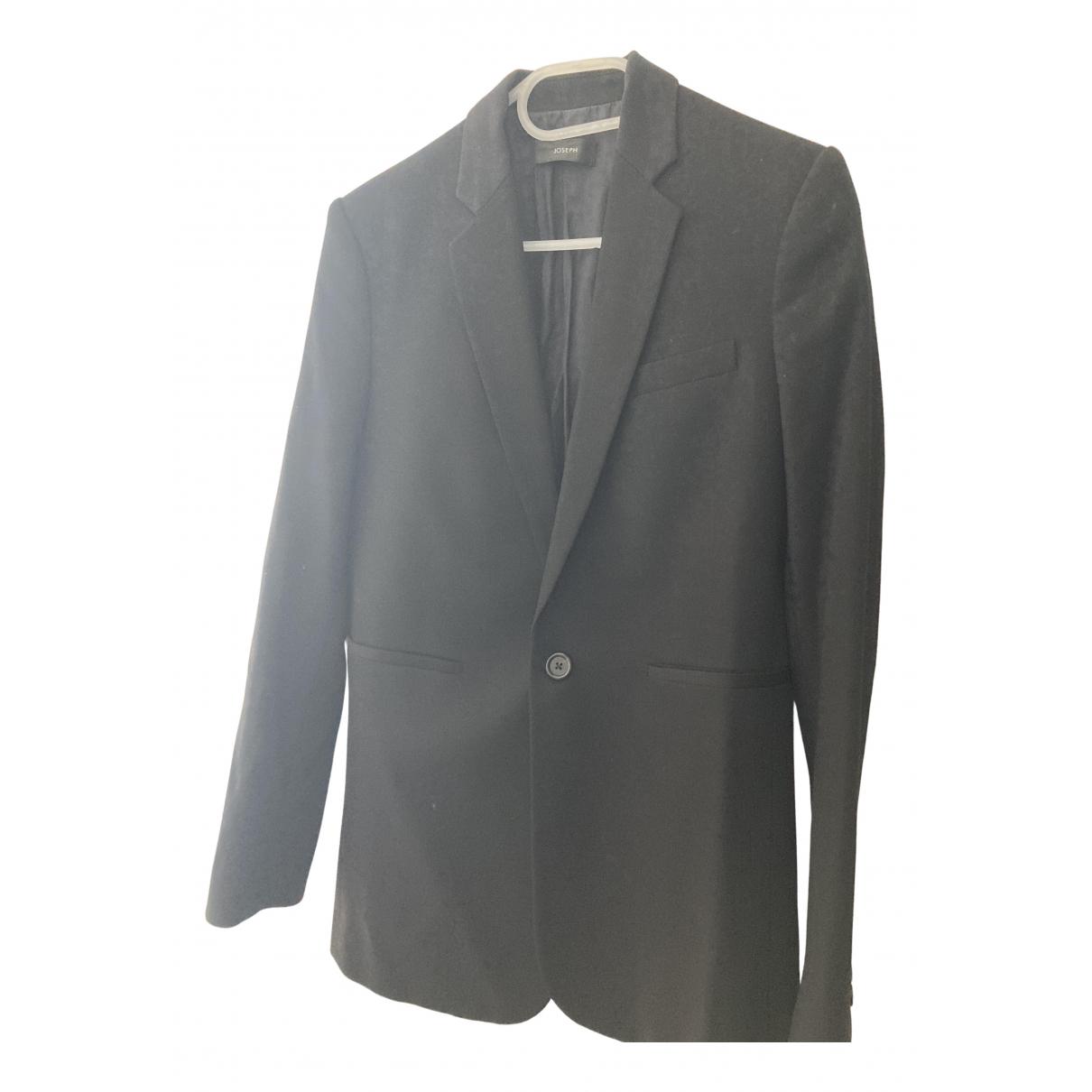 Joseph N Black Wool coat for Women 38 FR