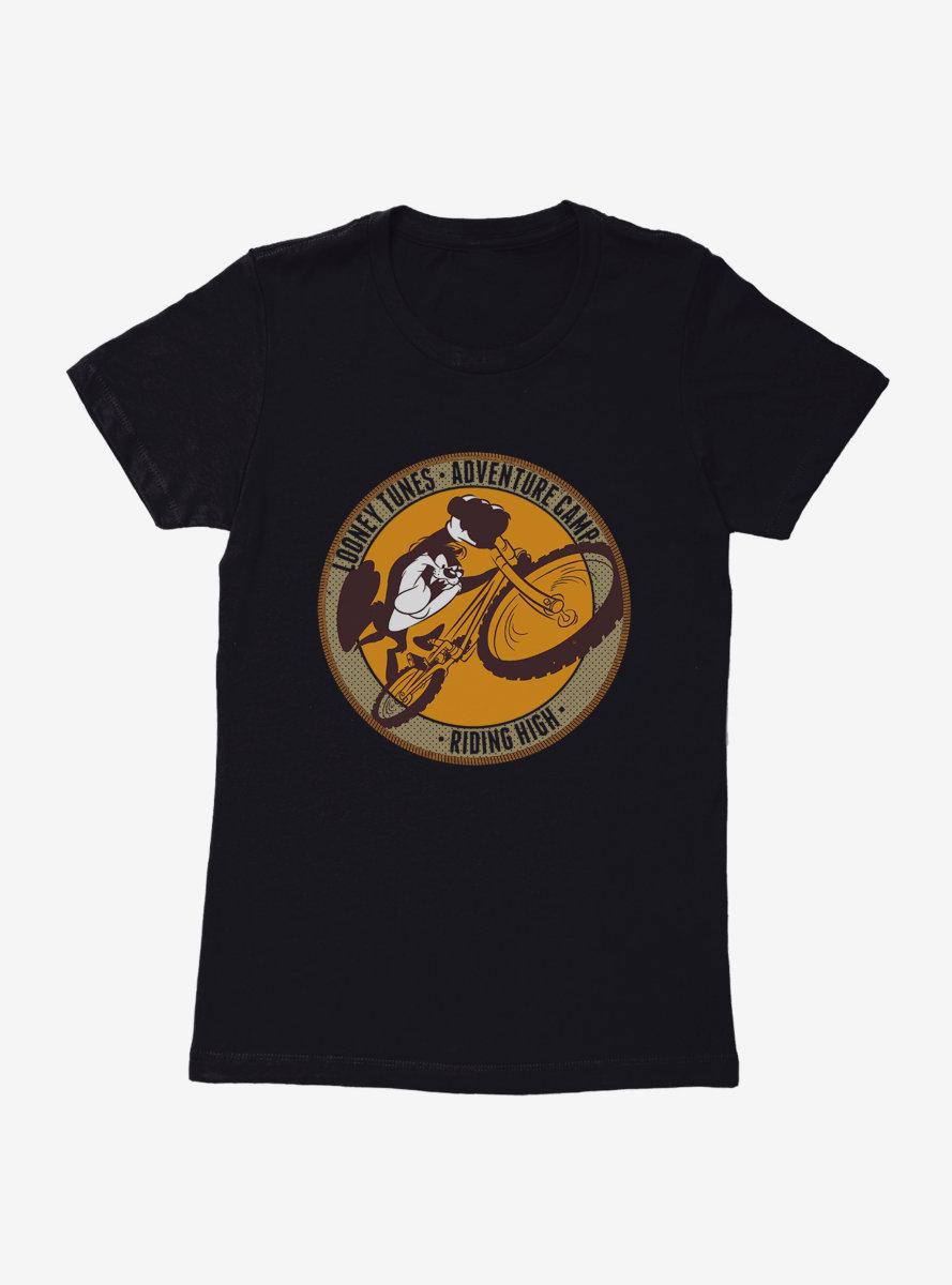 Looney Tunes Taz Riding High Womens T-Shirt
