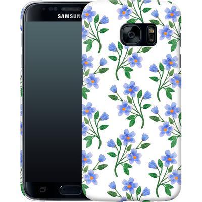 Samsung Galaxy S7 Smartphone Huelle - Fresh Bloom  von Iisa Monttinen