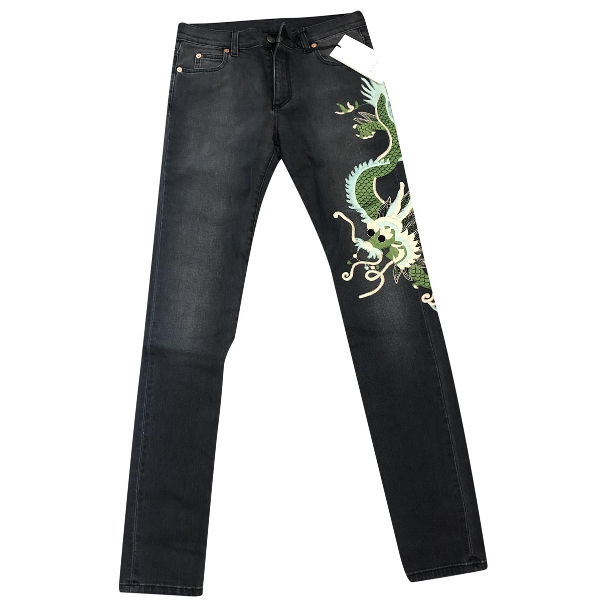 Gucci \N Black Cotton - elasthane Jeans for Women 25 US