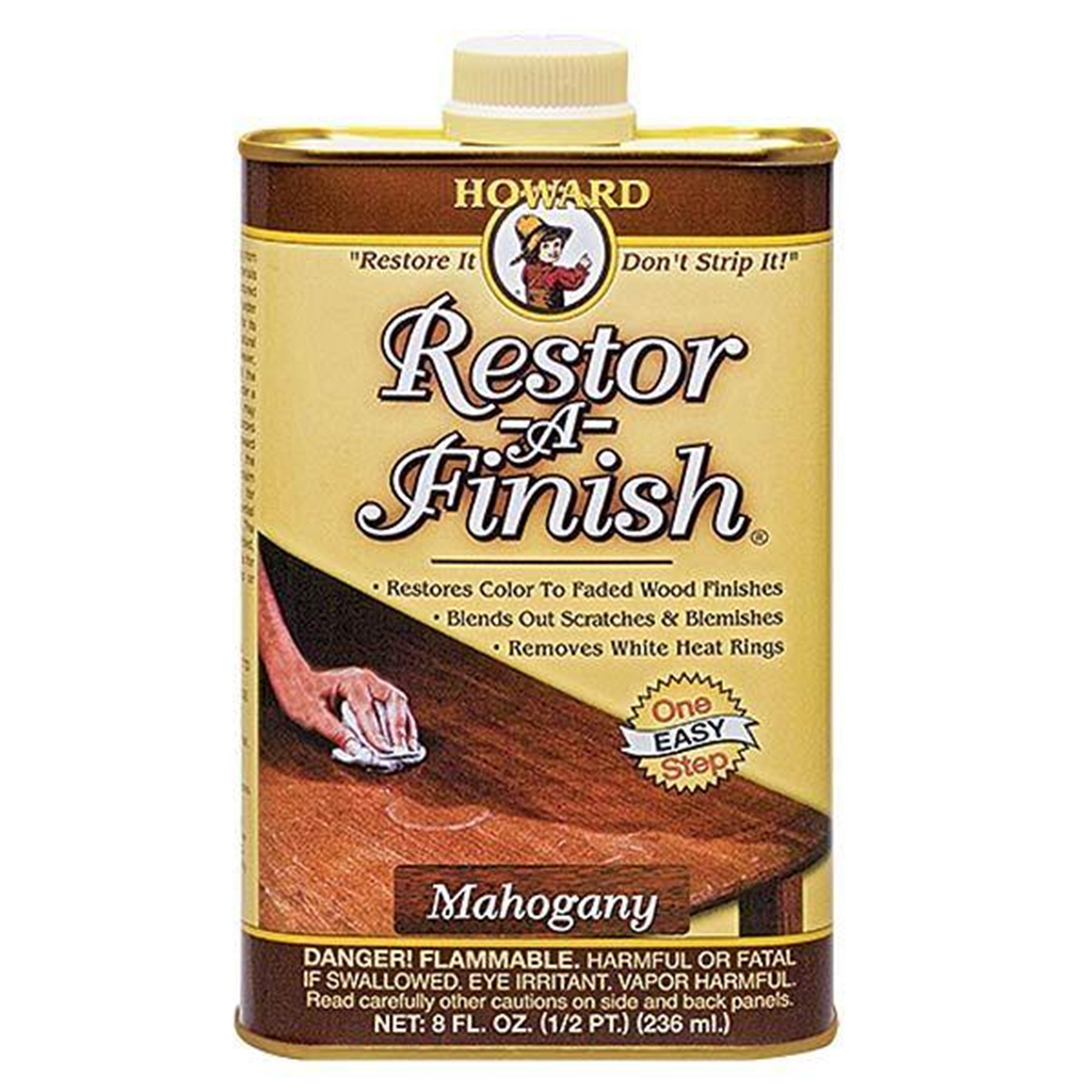 Mahogany Restore-A-Finish 8 oz