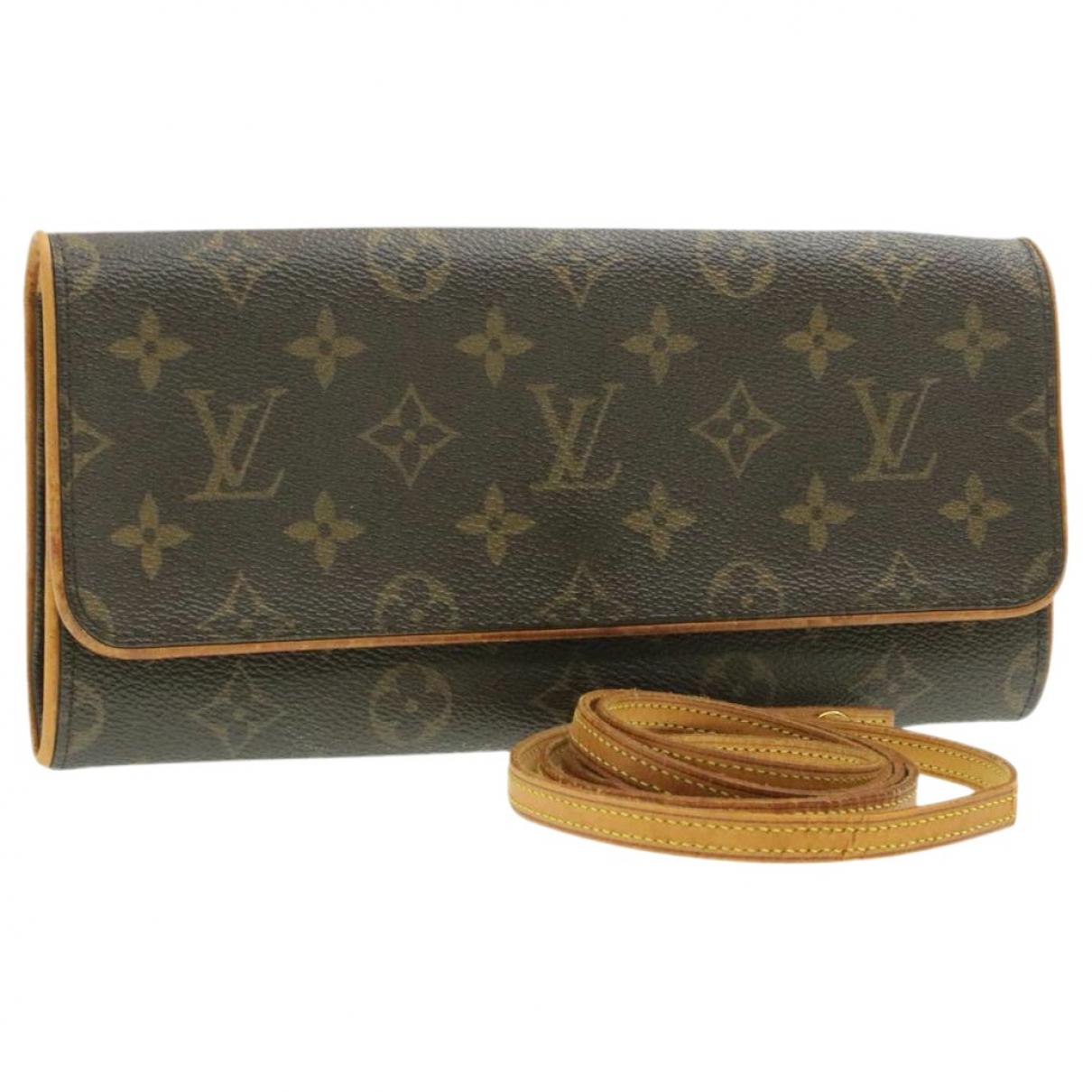 Bolso Twin de Lona Louis Vuitton