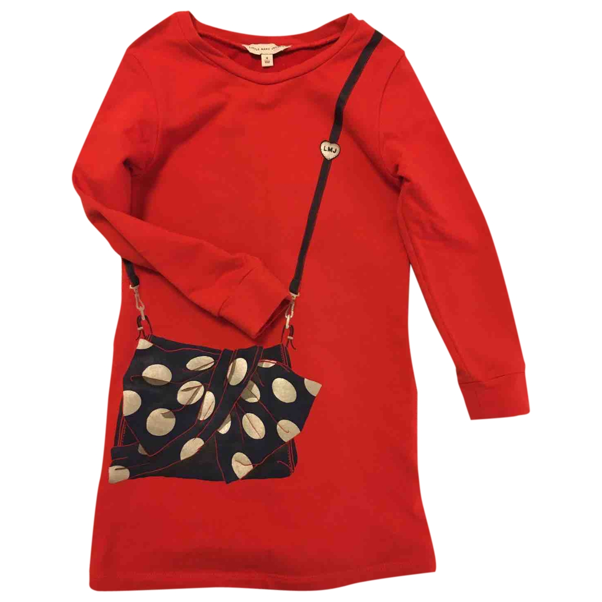 Little Marc Jacobs \N Red Cotton dress for Kids 4 years - up to 102cm FR
