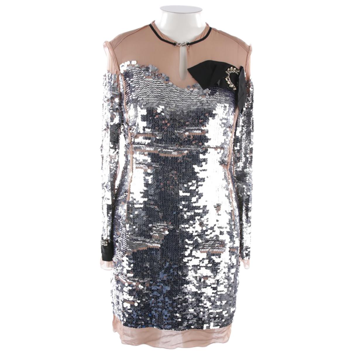 Lanvin - Robe   pour femme - argente