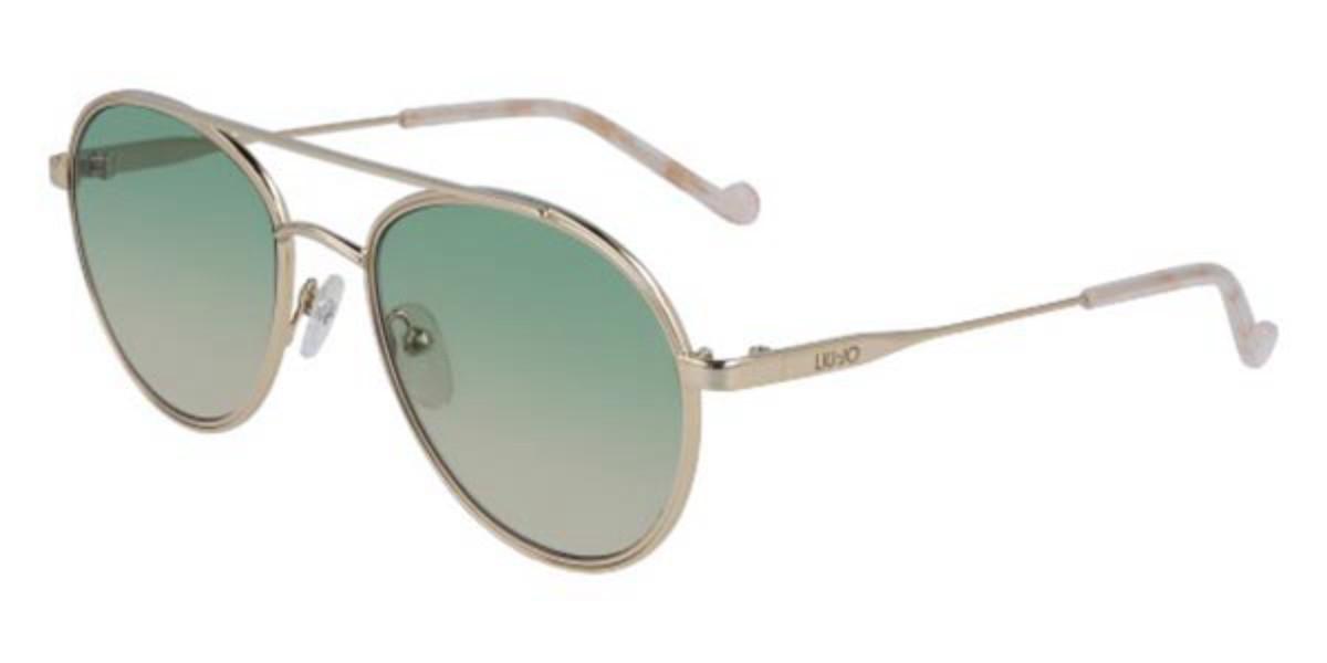 Liu Jo LJ119S 717 Women's Sunglasses Gold Size 54