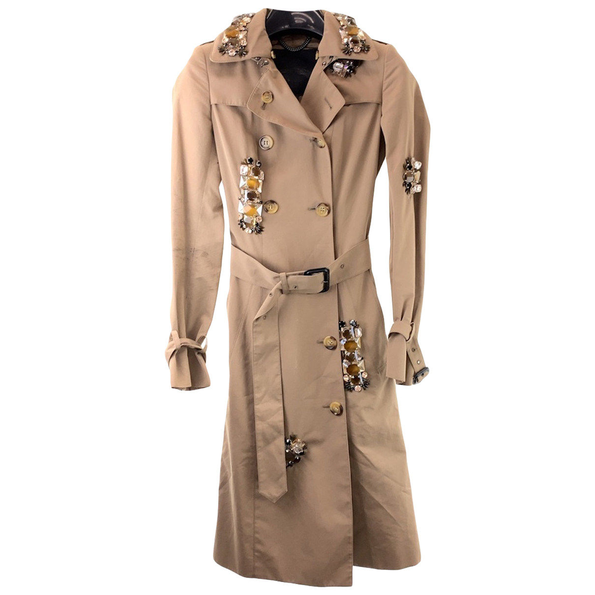Burberry N Cotton Trench coat for Women 36 FR