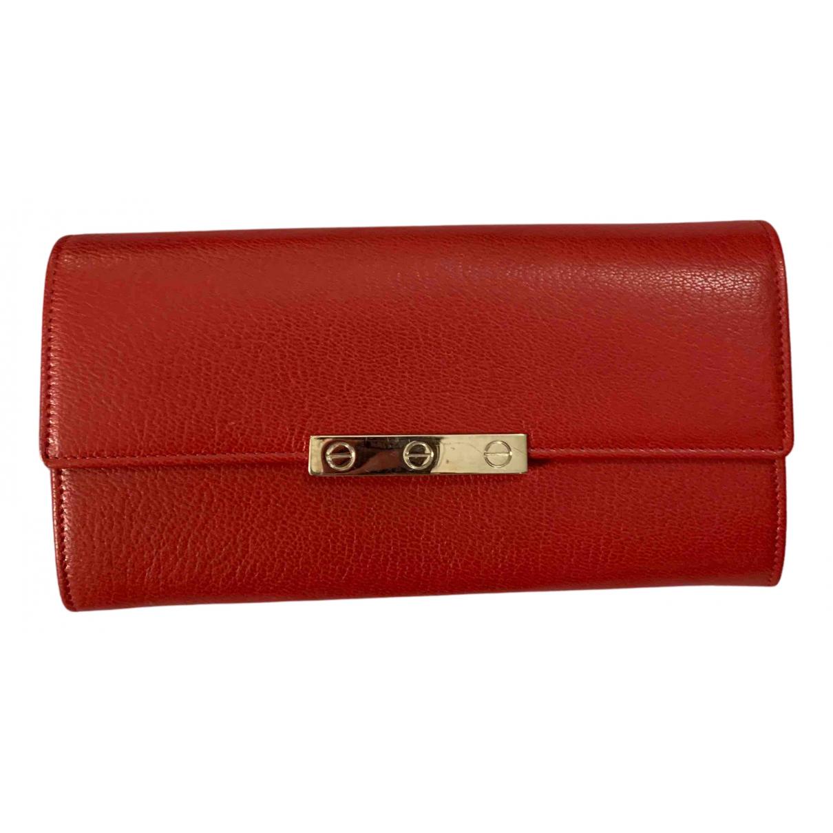 Cartier N Leather wallet for Women N